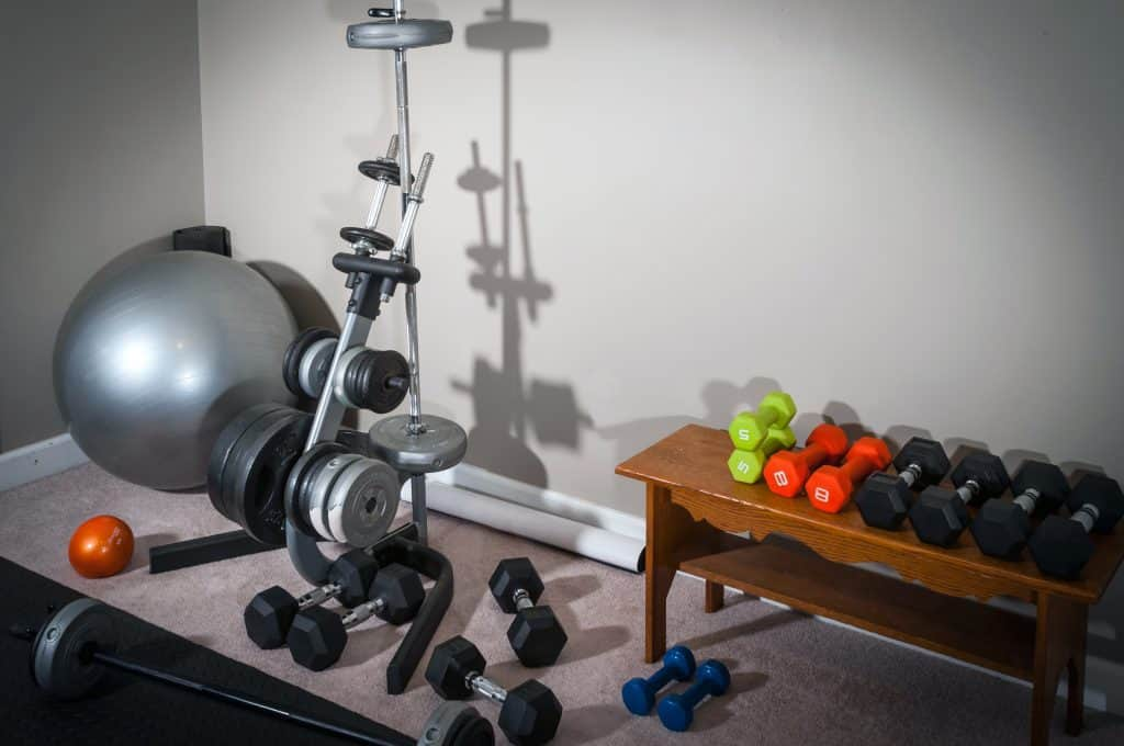 How to get flooring for a home gym on the cheap drill warrior