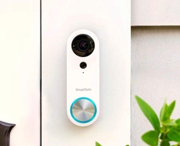 SimpliSafe Pro Smart Home Video Doorbell