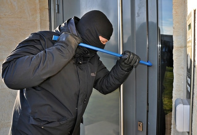 Confrontation With A Burglar