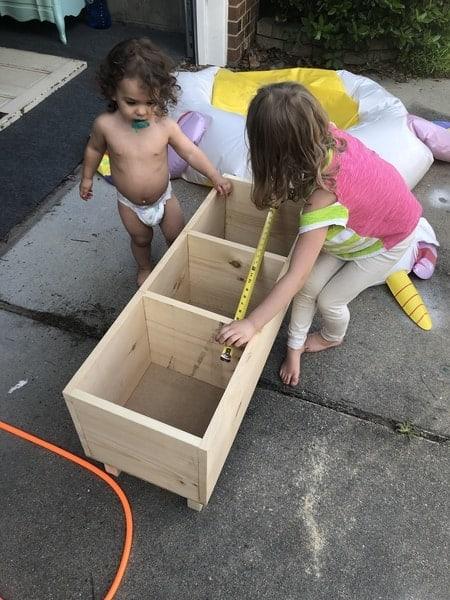 Kids Wood Shelf